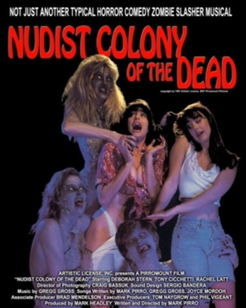 Nudist Colony of the Dead (1991) poster