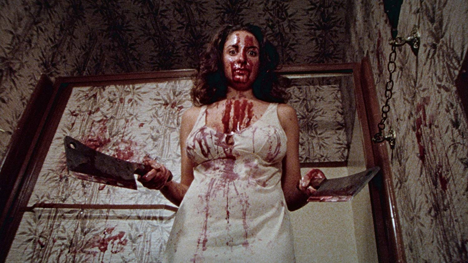 A possessed Jill Jacobson in Nurse Sherri (1978)