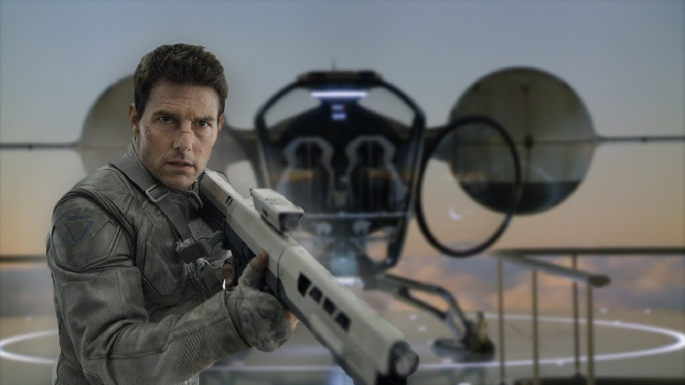 Tom Cruise in Oblivion (2013)