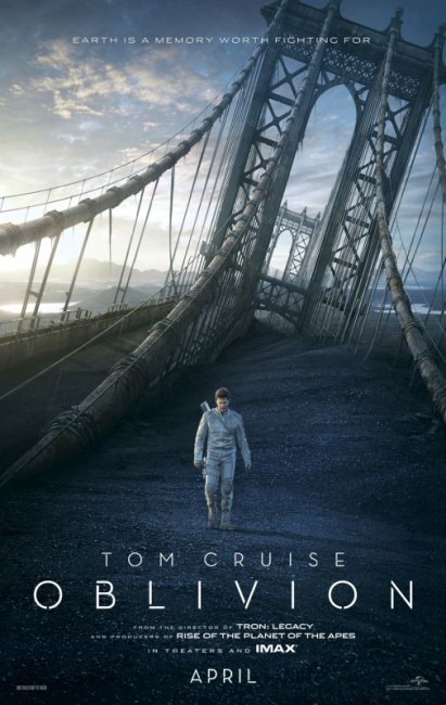 Oblivion (2013) poster