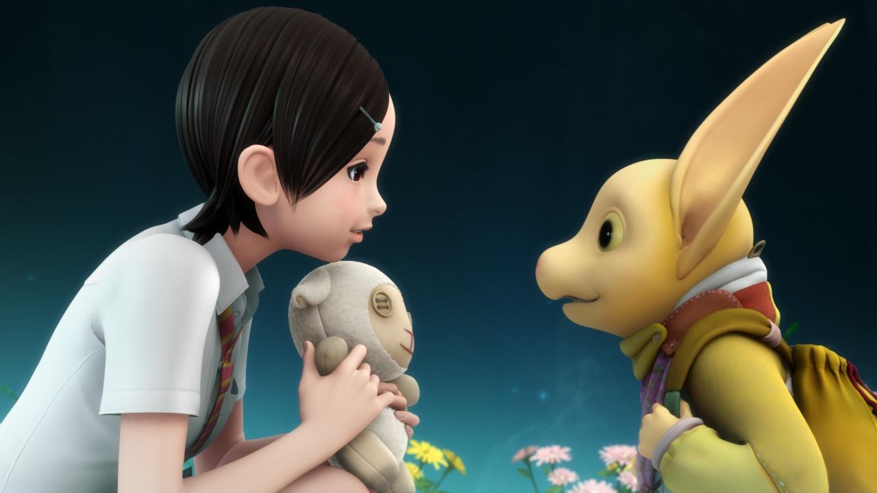 Haruka and Teo in Oblivion Island: Haruka and the Magic Mirror (2009)