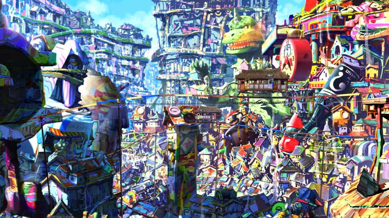 The underworld in Oblivion Island: Haruka and the Magic Mirror (2009)