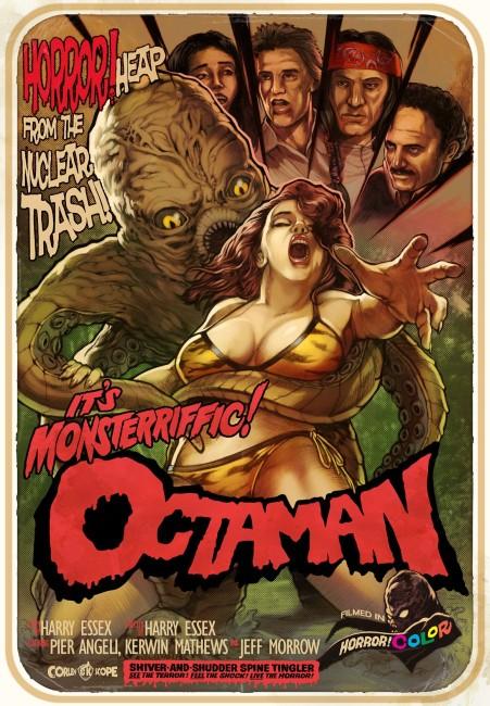 Octaman (1971) poster