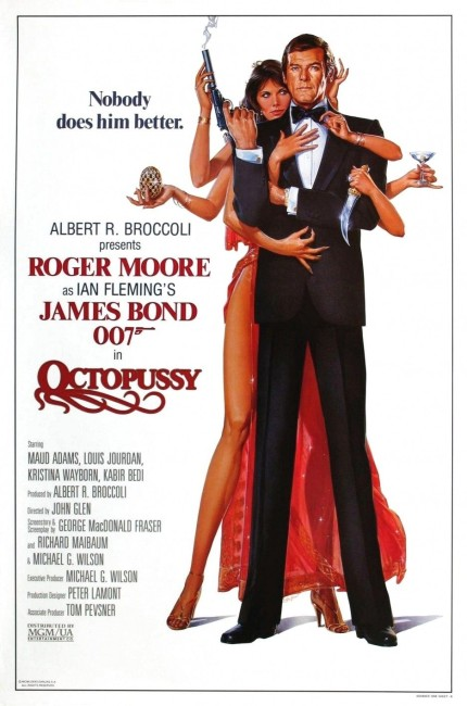 Octopussy (1983) poster