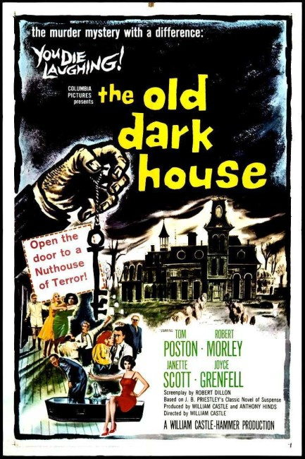 The Old Dark House (1963) poster