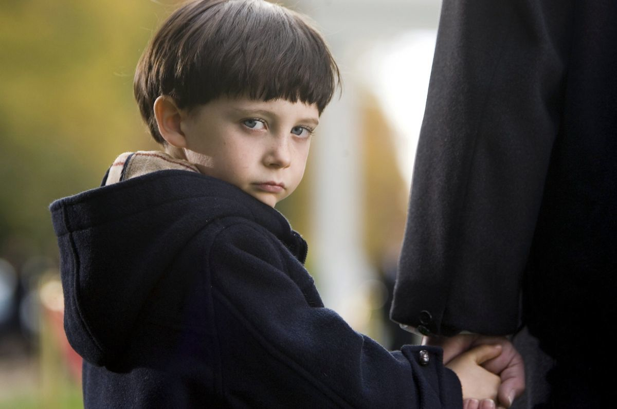 Seamus Davey-Fitzpatrick as Damien in The Omen (2006)