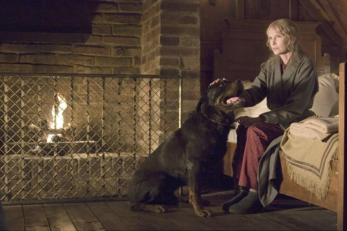 Mia Farrow as Mrs Blaylock in The Omen (2006)