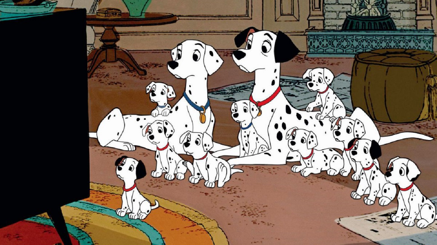 Twelve of the One Hundred and One Dalmatians (1961)