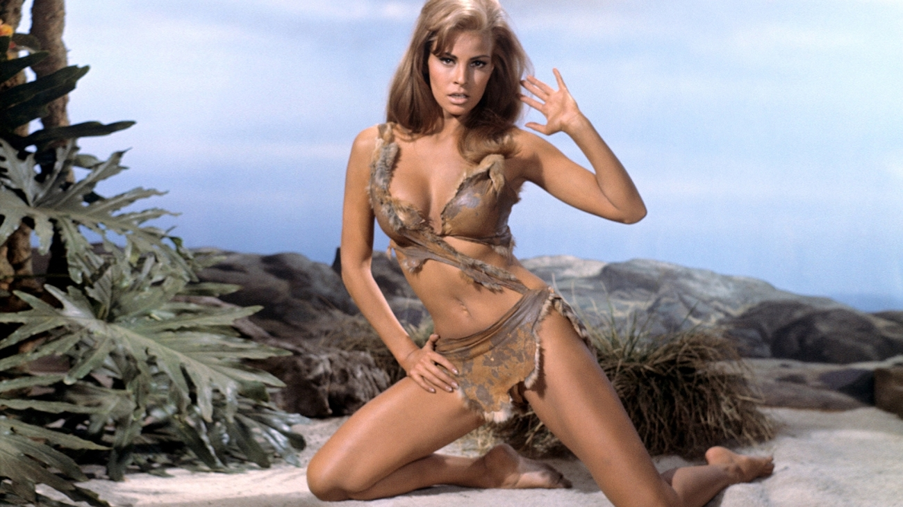 Raquel Welch in a fur bikini in One Million Years B.C. (1966)
