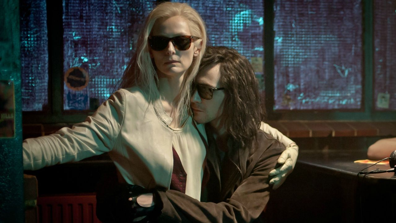 Eve (Tilda Swinton) and Adam (Tom Hiddleston) in Only Lovers Left Alive (2013)