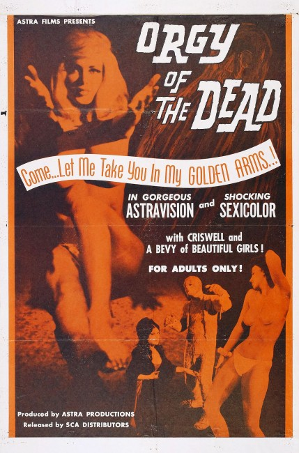 Orgy of the Dead (1965) poster