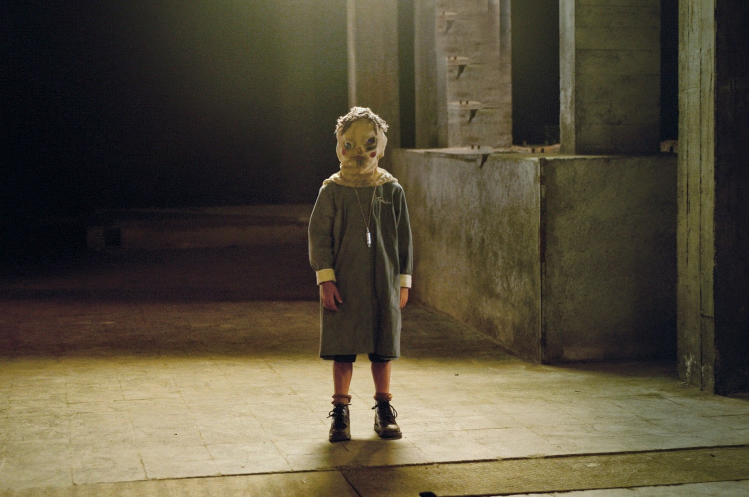 The ghostly Tomas in The Orphanage (2007)