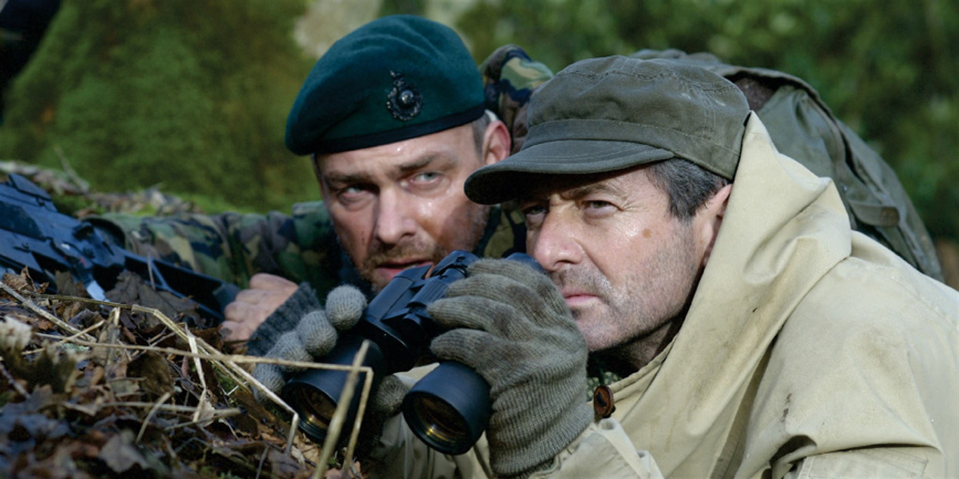 Ray Stevenson and Julian Wadham in Outpost (2007)