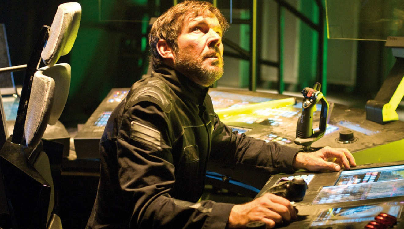 Dennis Quaid as Lieutenant Payton in Pandorum (2009)