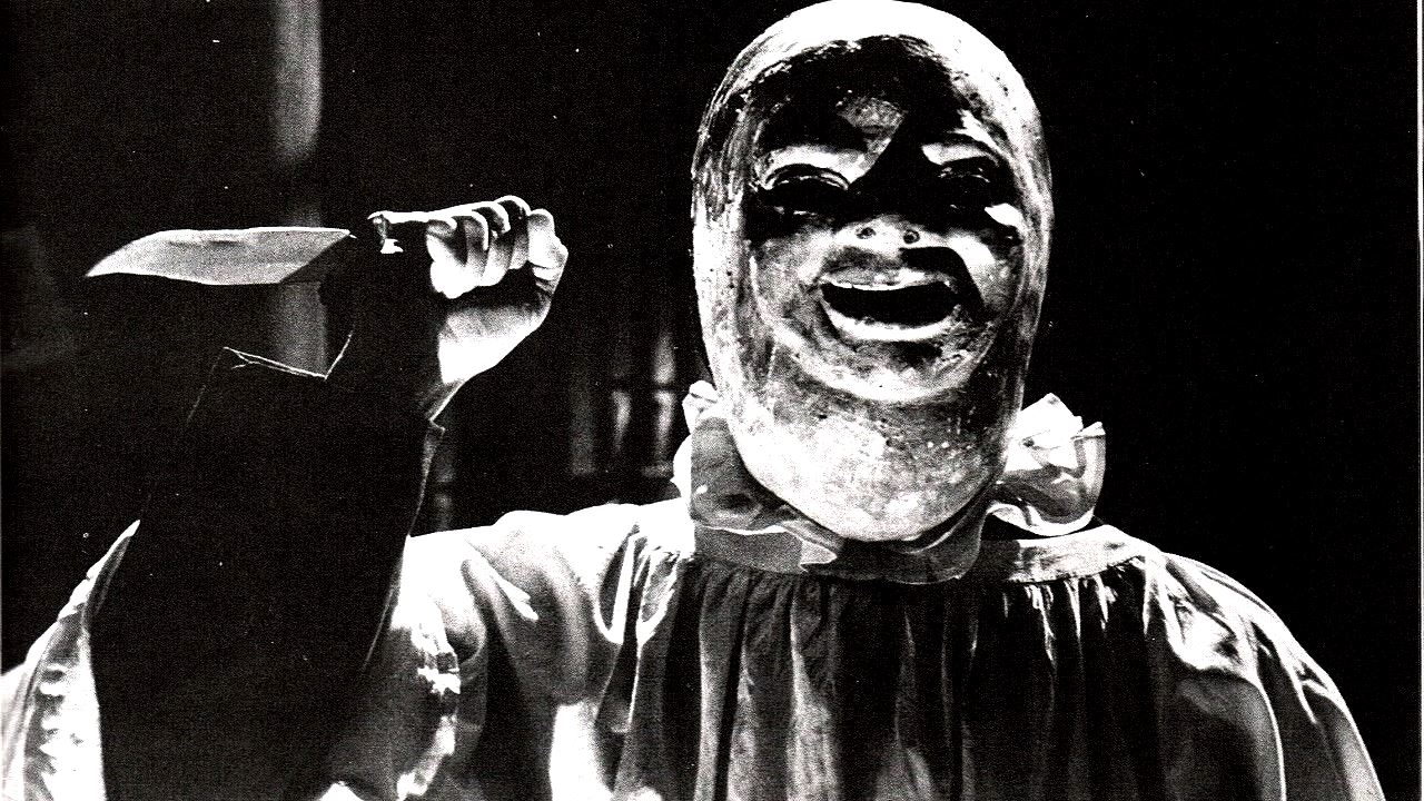 The Sinister masked figure in Paranoiac (1963)