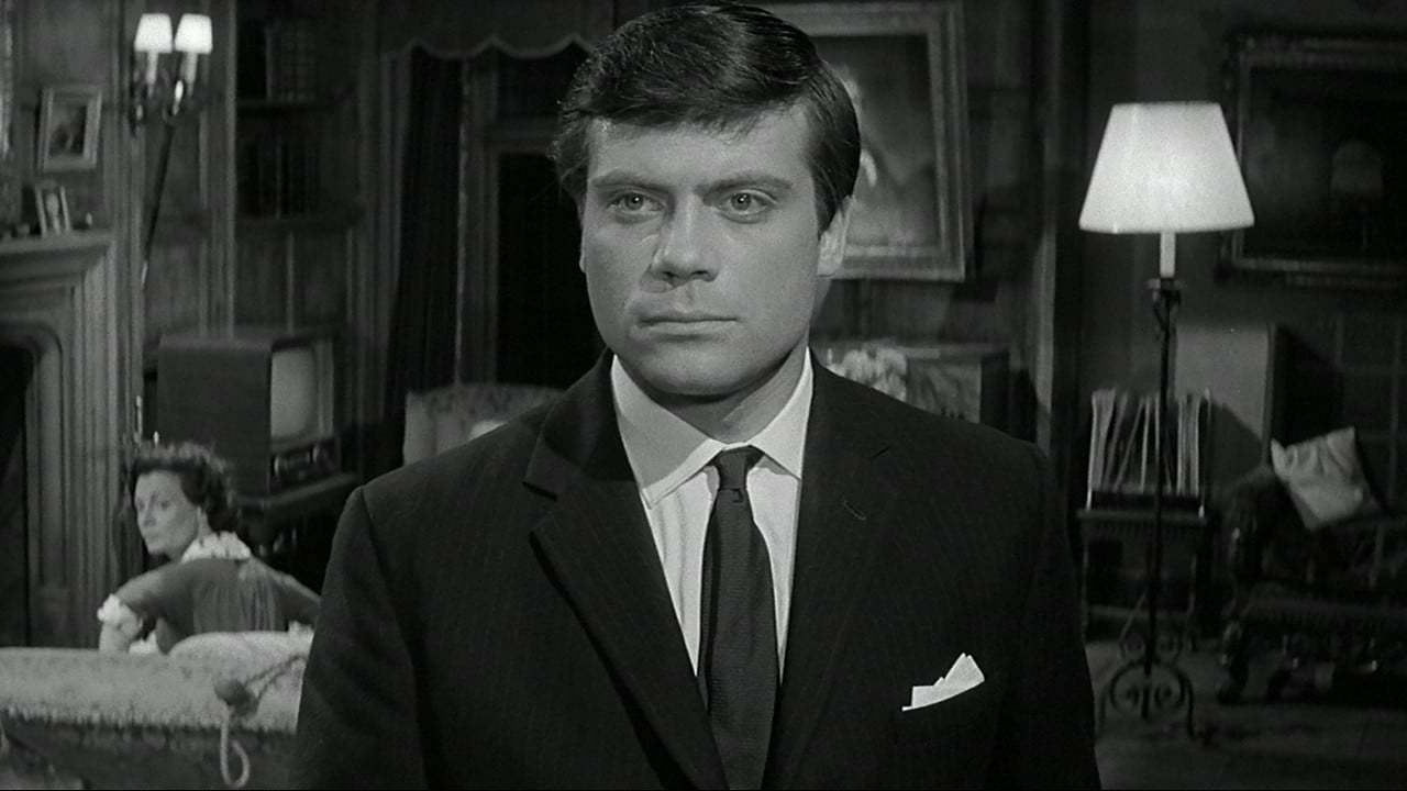 Oliver Reed and Sheila Burrell in Paranoiac (1963)