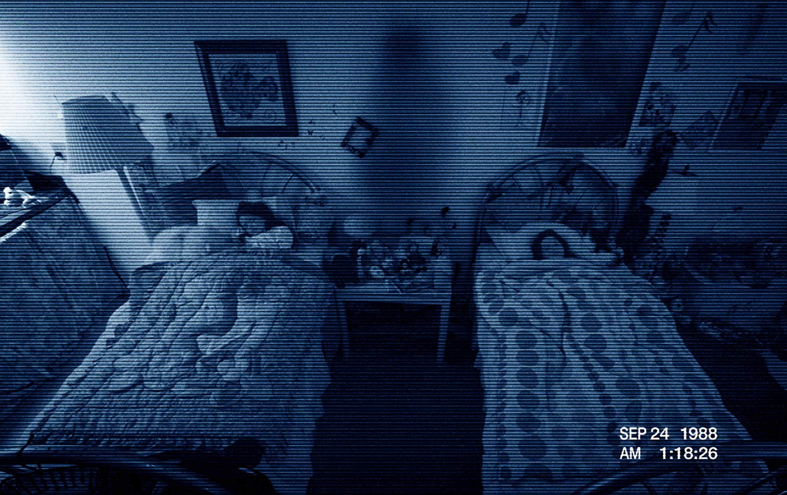 Jessica Tyler Brown and Chloe Csengery in Paranormal Activity 3 (2011)