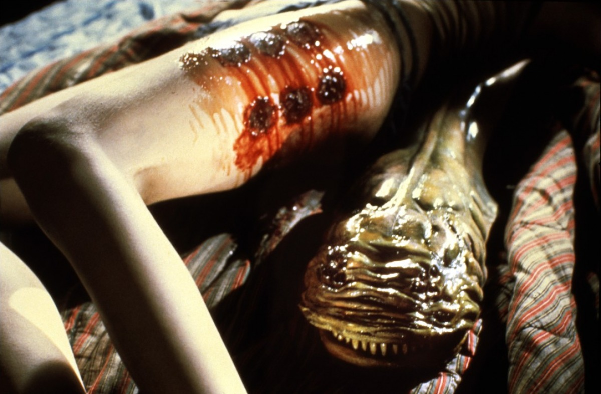 The creature in Parasite (1982)