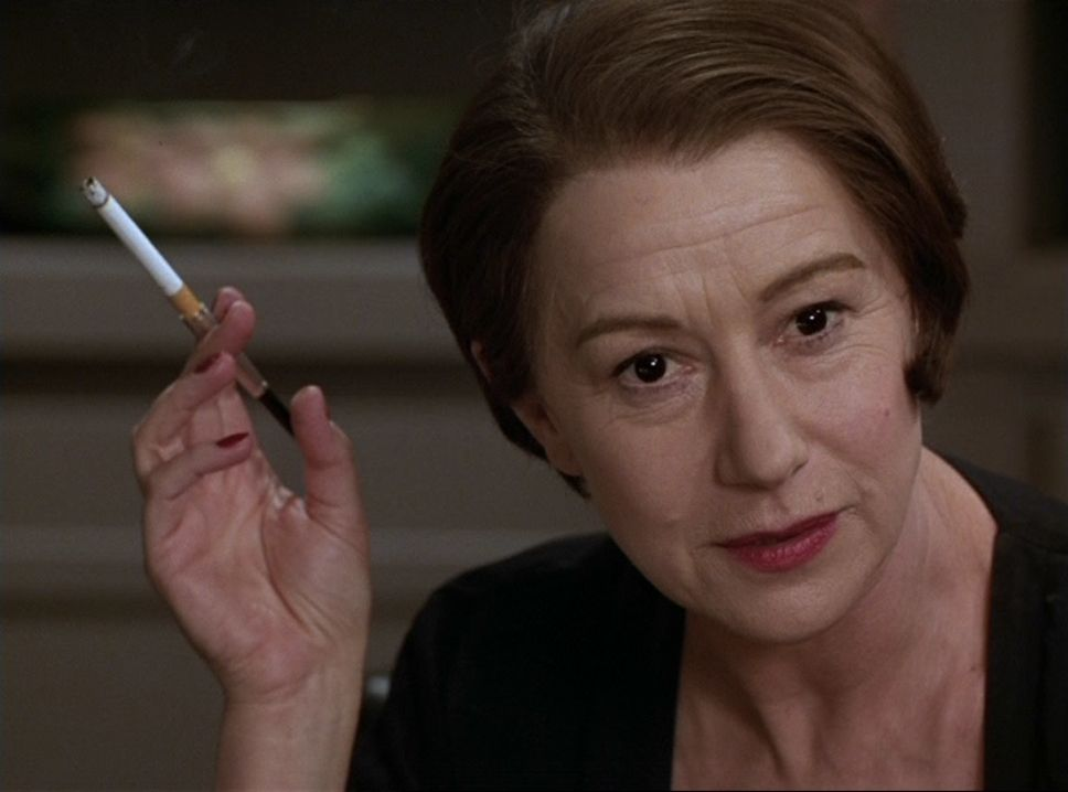 Helen Mirren in an award-winning performance as writer/philosopher Ayn Rand in The Passion of Ayn Rand (1999)