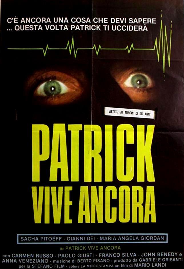 Patrick Still Lives (1980) poster