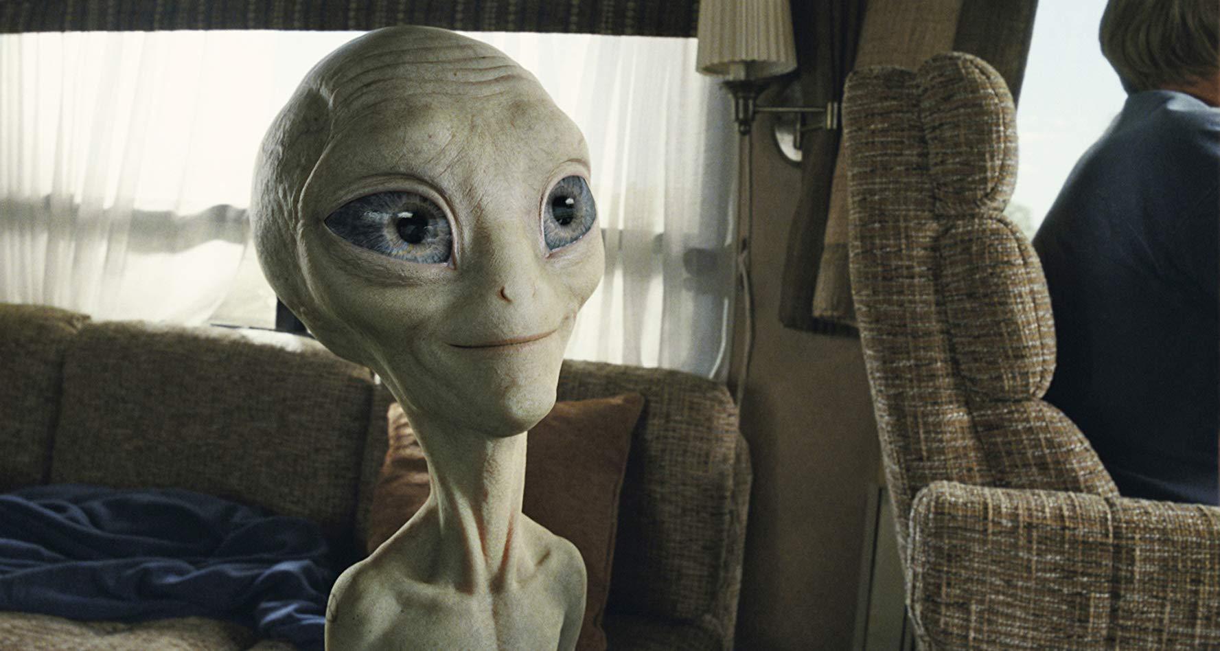 Paul itself (voiced by Seth Rogen) in Paul (2011)