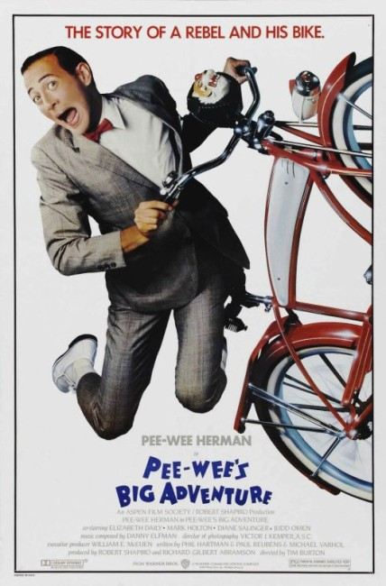 Pee-Wee's Big Adventure (1985) poster