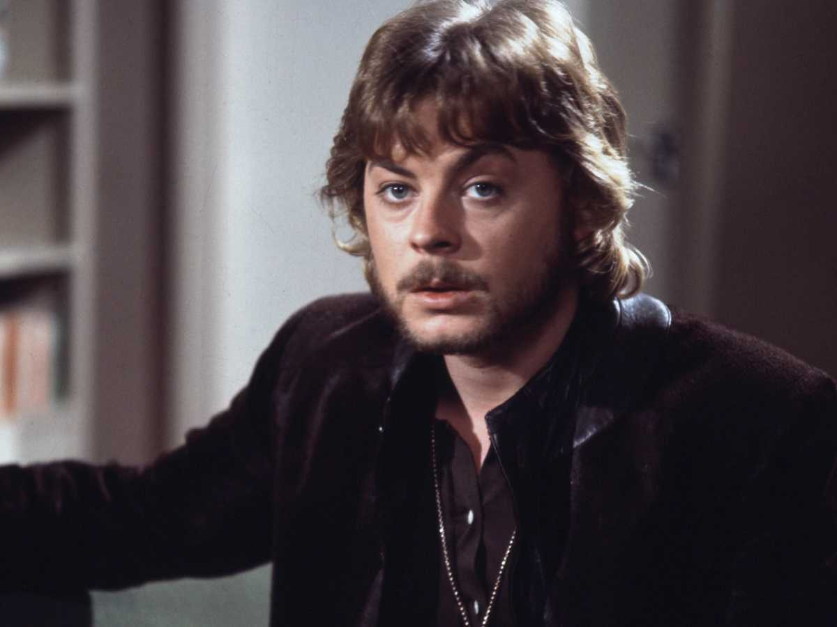 Hywel Bennett as Edwin Anthony, recipient of the world's first penis transplant in Percy (1971)