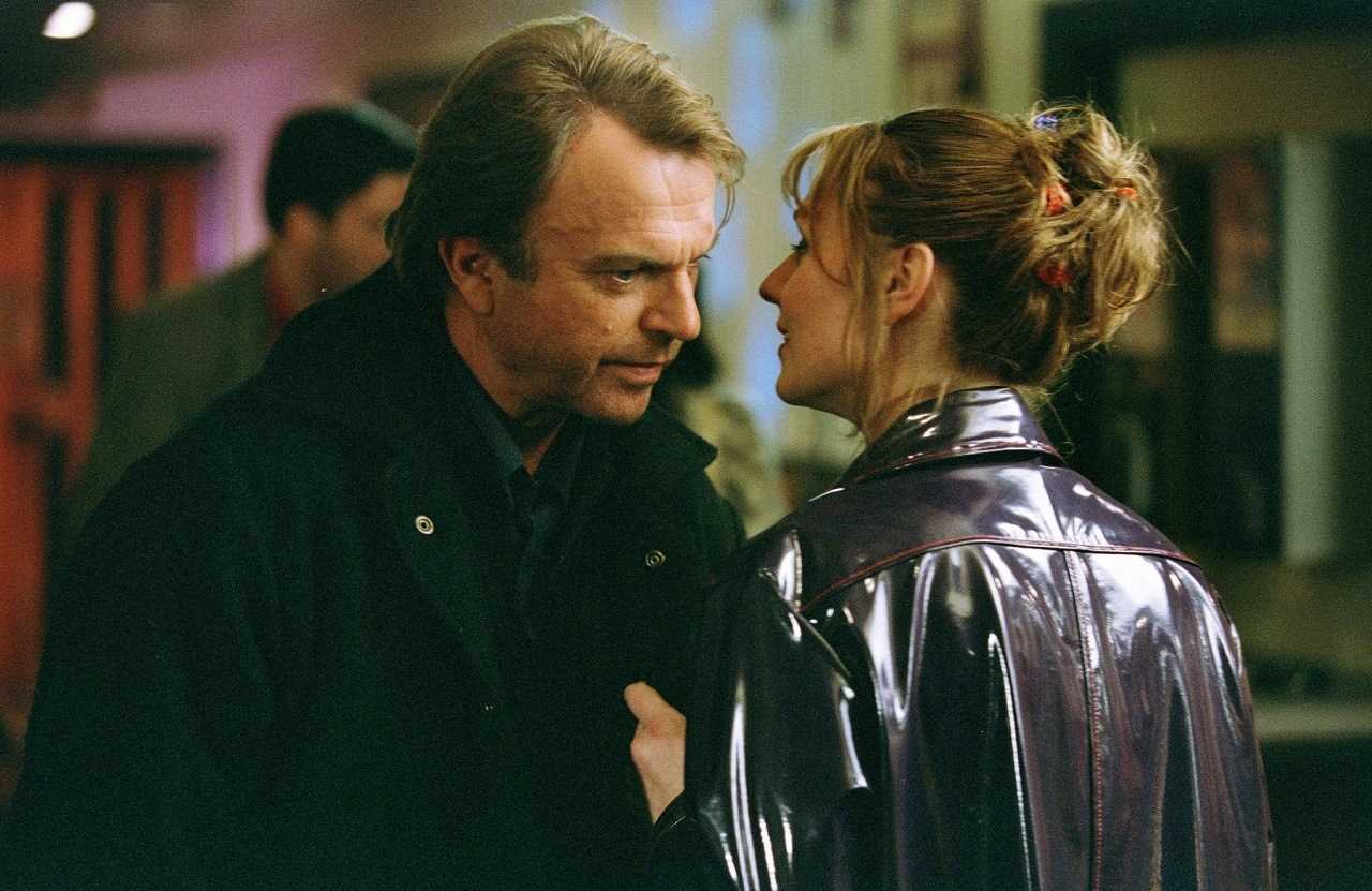 Sam Neill meets Rachael Blake in Perfect Strangers (2003)