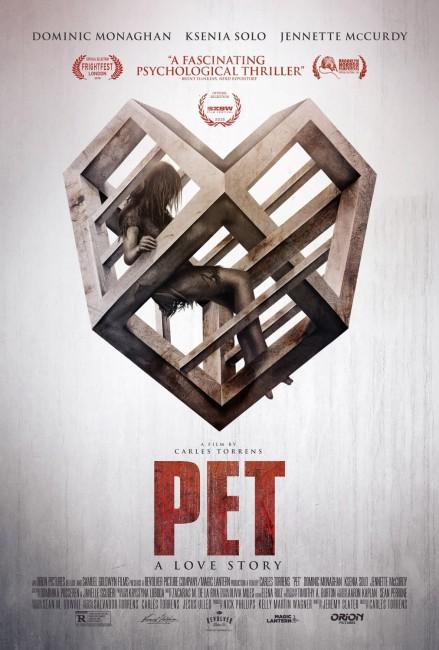 Pet (2016) poster
