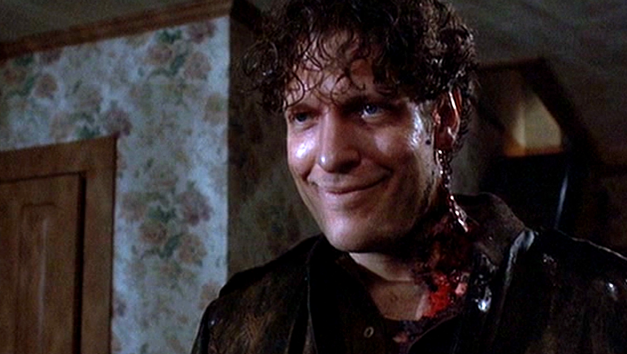 A resurrected Clancy Brown in Pet Sematary II (1992)