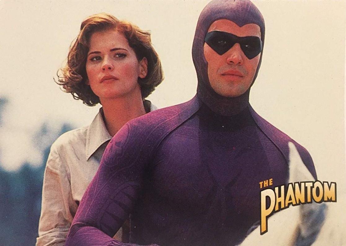 The Phantom (Billy Zane) and Diana Palmer (Kristy Swanson) in The Phantom (1996)