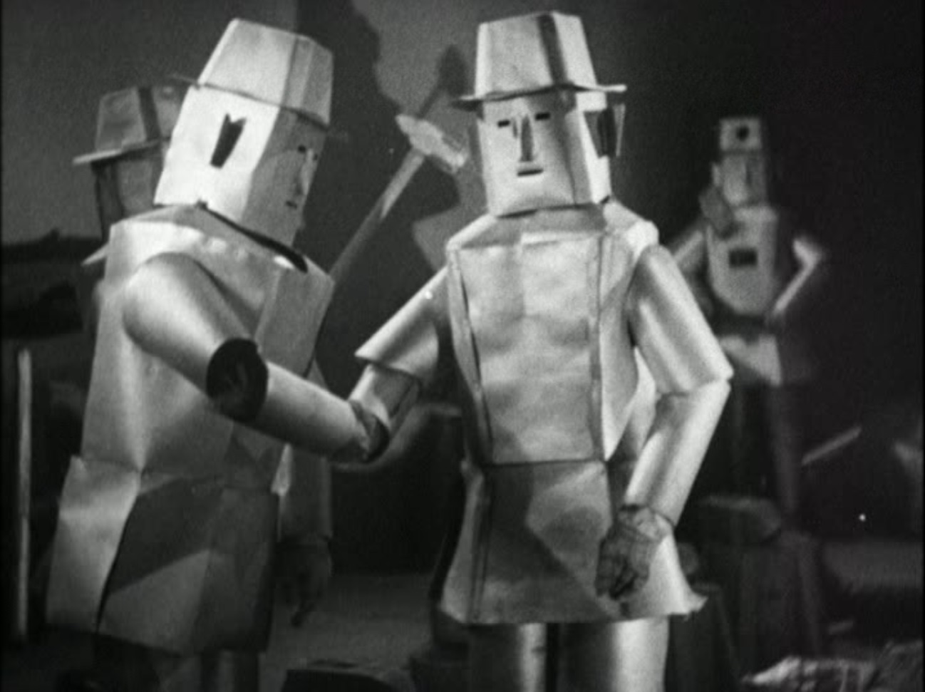 Robots in cowboy hats from The Phantom Empire (1935)