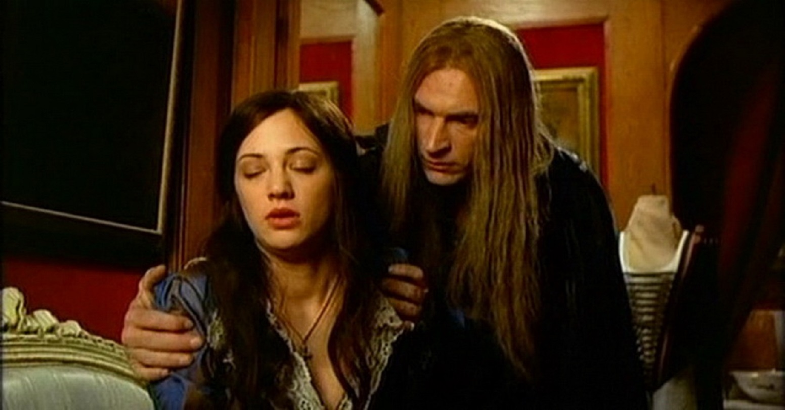 Asia Argento with Julian Sands as The Phantom in The Phantom of the Opera (1998)