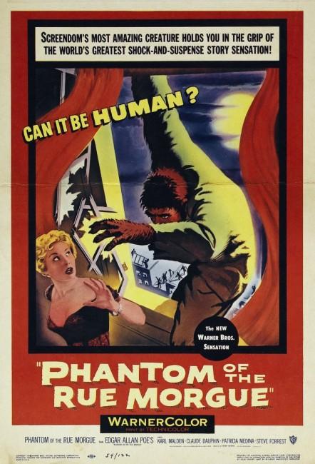 Phantom of the Rue Morgue (1954) poster