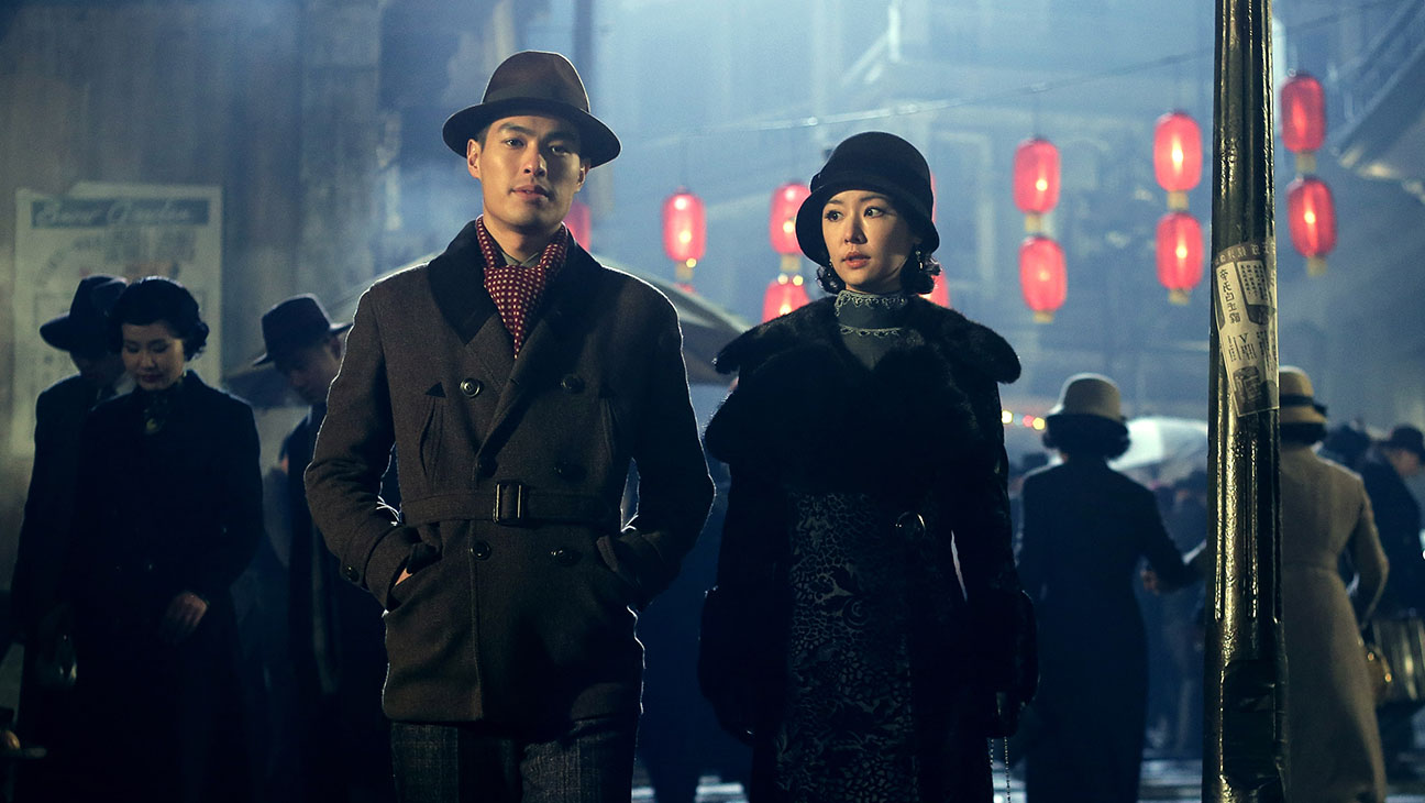 Film director Yo Yang and his leading lady Ruby Lin in Phantom of the Theatre (2016)