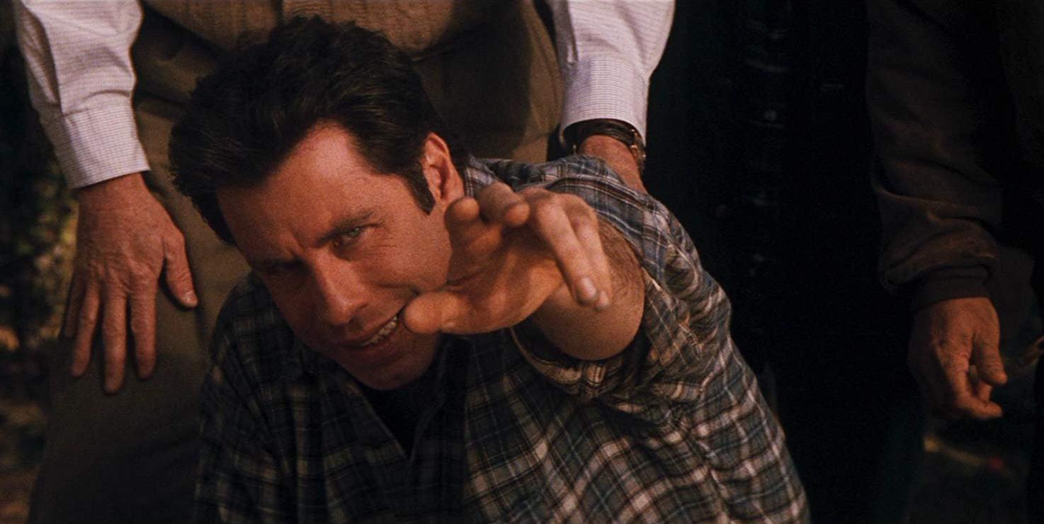 John Travolta gains a supermind in Phenomenon (1996)