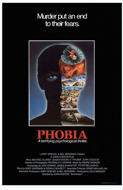Phobia (1980) poster