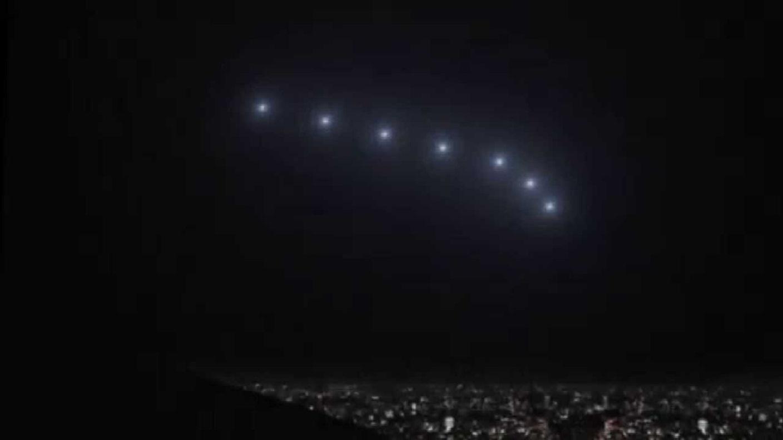 Mysterious lights in the sky over Phoenix in Phoenix Forgotten (2017)