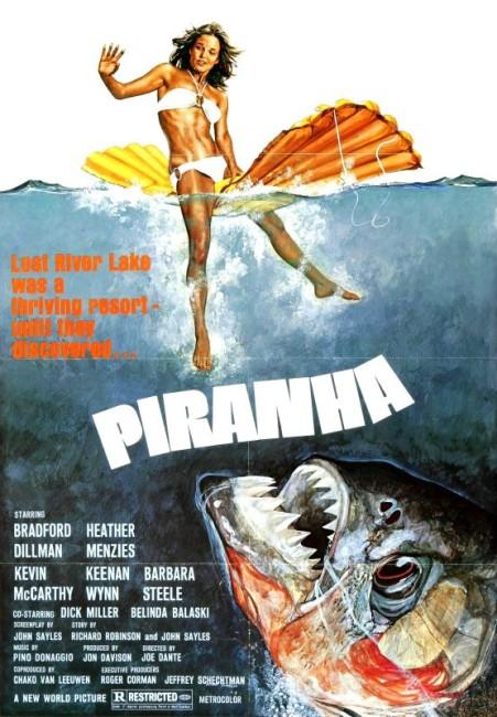 Piranha (1978) poster