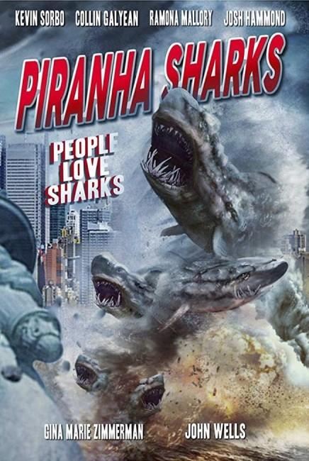 Piranha Sharks (2016) poster