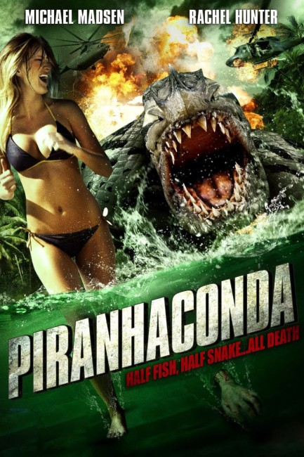 Piranhaconda (2012) poster