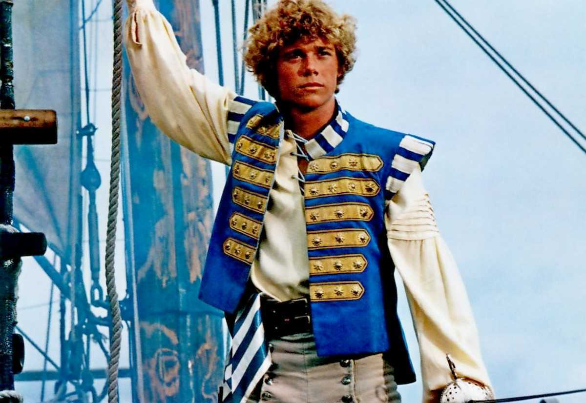 Christopher Atkins as a pirate in The Pirate Movie (1982)