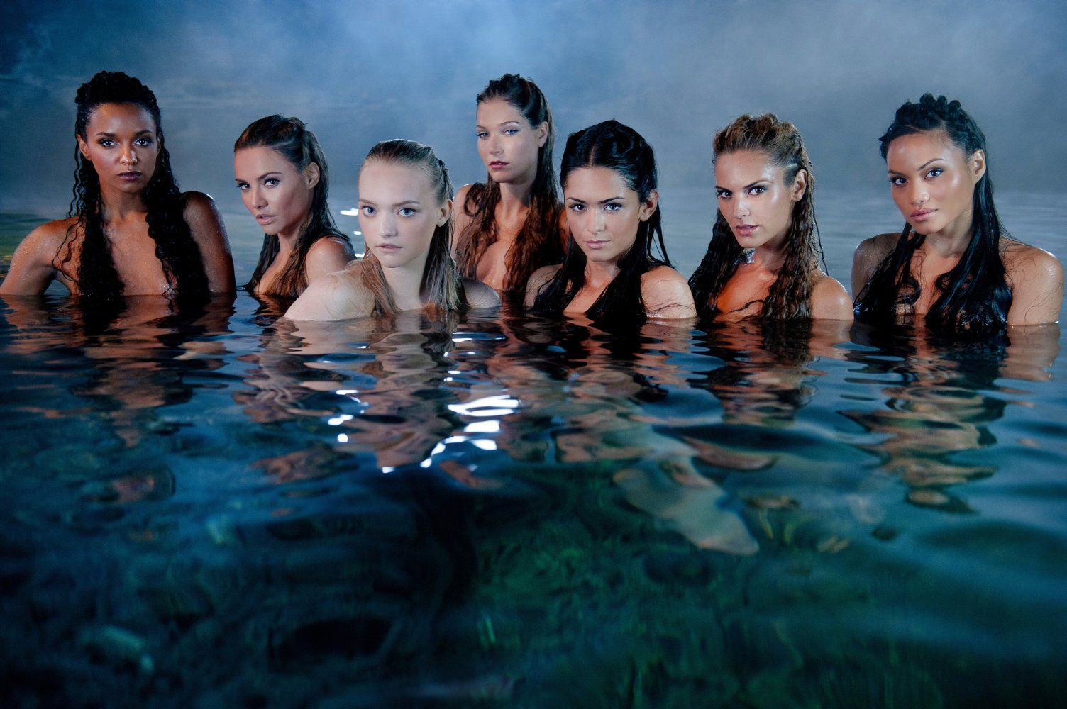 An assortment of mermaids from Pirates of the Caribbean: On Stranger Tides (2011)