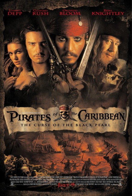 Pirates of the Caribbean: The Curse of the Black Pearl (2003) poster