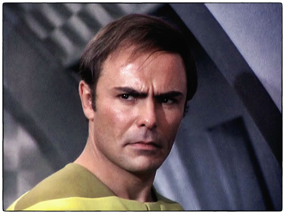 John Saxon as Dylan Hunt in Planet Earth (1974)