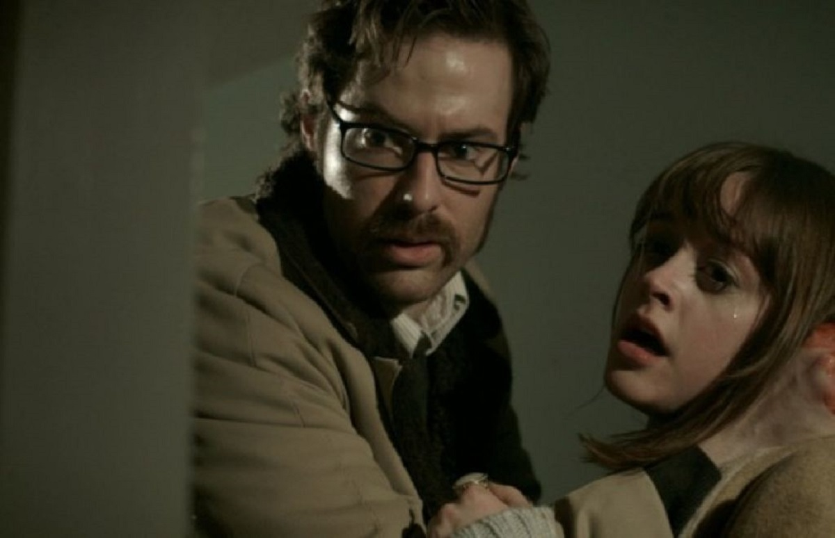 Brother and sister Dean Cates and Lauren Ashley Carter in Pod (2015)
