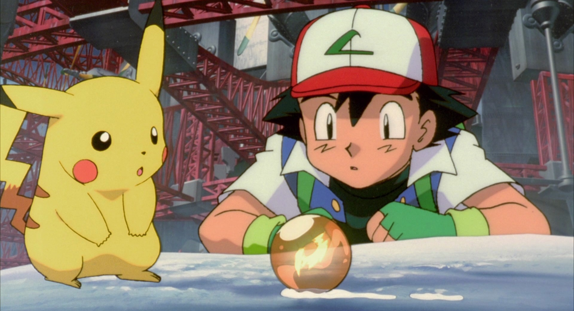 Ash Ketchum and Pikachu in Pokemon: The Power of One (1999)