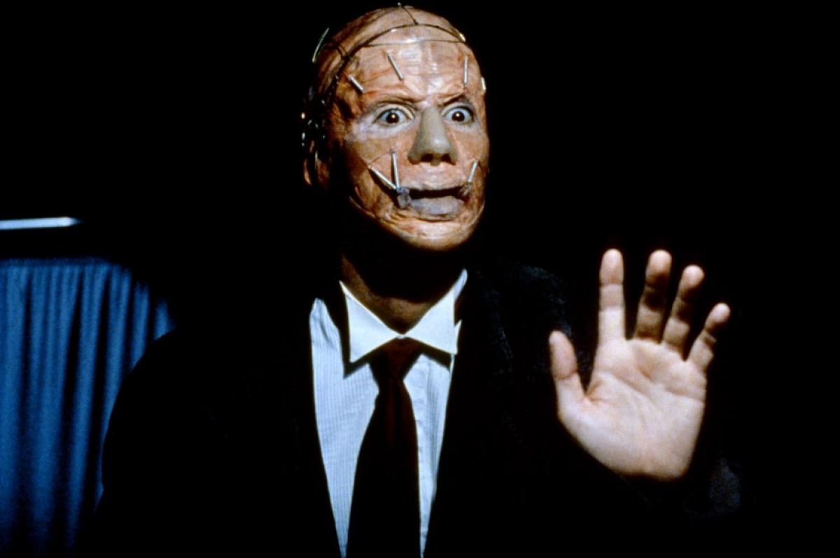 The masked killer in Popcorn (1991)