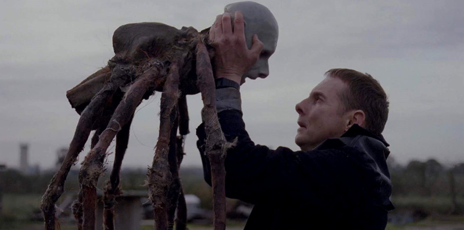 Sean Harris with puppet in Possum (2018)
