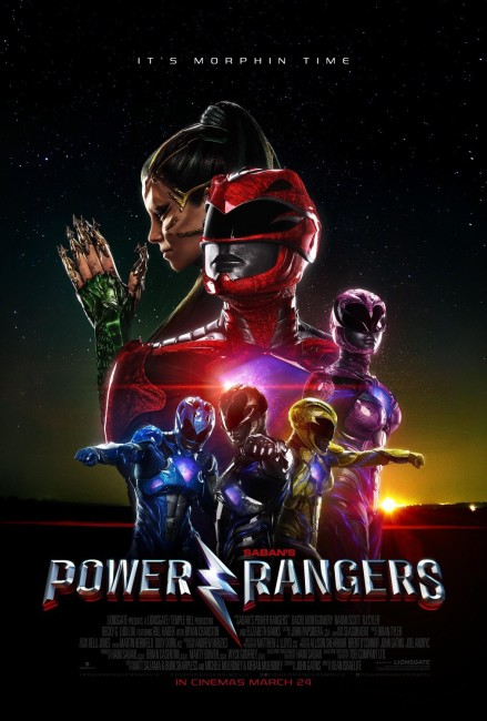 Power Rangers (2017) poster